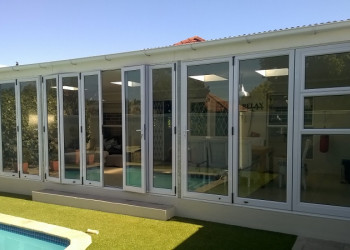 folding doors solar-e glass