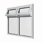 Aluminium Windows Double Glazed