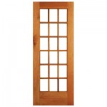 Lotus Meranti French 18 Pane Patio Door 813