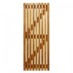 SD12 - Single Slatted Hardwood Gate 813x1800mm