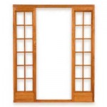 SKLRSP/OI - 86x67mm Door Frame Small Pane L&R Sidelight OI 1800x2125mm