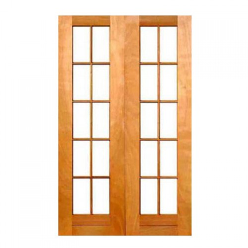 Wooden sd10 1210 oi cape culture double small pane door for 10 pane glass door