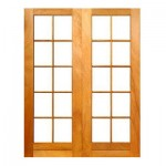 SD10/1612/OI - Double Small Pane Door 1612x2032mm