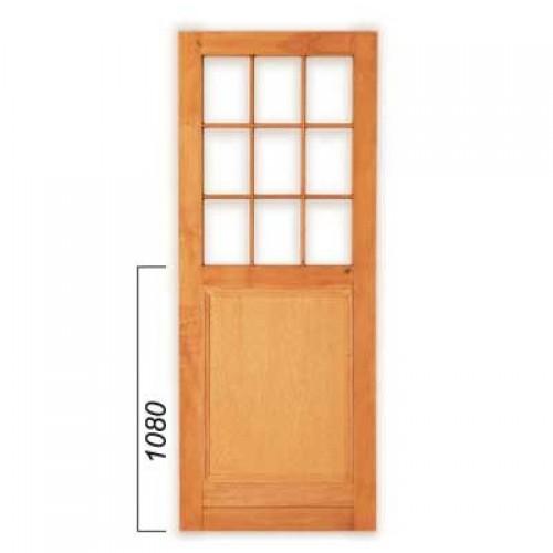 Ply Panel Doors : Wooden pd winsters ply panel small pane door mm