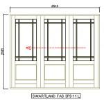 FAS3PD11L - Fold-A-Side Unit Left 2570x2120mm