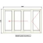 FAS4PD3L - Fold-A-Side Unit Left 3380x2120mm