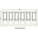 FAS6PD11L - Fold-A-Side Unit Left 4995x2120mm