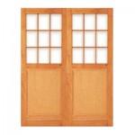 PD10/1612 - Ply Panel Small Pane Door 1612x2032mm