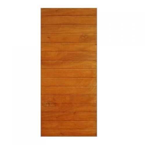 Wooden pd60 winsters horizontal grooved door 813x2032mm for All wood exterior doors