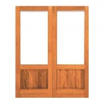 PD12/1612 - Double Happy Full Pane Door 1612x2032mm