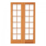 PD4/1210 - Double Small Pane Door 1210x2032mm