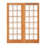 PD4/1612 - Double Small Pane Door 1612x2032mm