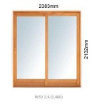 WSD2.4L - Single Sliding Door 2.4L - 2383x2125mm
