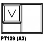 OA38PT129 Top Hung Window 1200x900