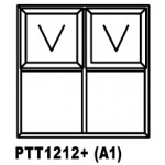 OA38PTT1212+ Top Hung Window 1200x1200