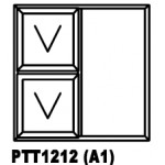 OA38PTT1212 Top Hung Window 1200x1200