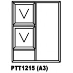 OA38PTT1215 Top Hung Window 1200x1500