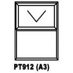 OAPT912 Top Hung Window 900x1200mm