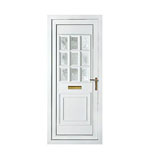 upvc cambridge one georgian bow frosted door