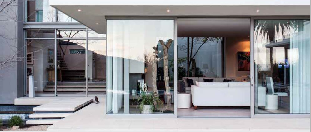 Windoor africa aluminium windows and folding stacking for Kitchen doors south africa