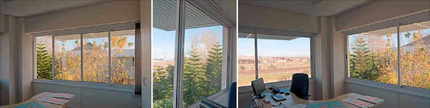Horizontal Sliding Aluminium Windows