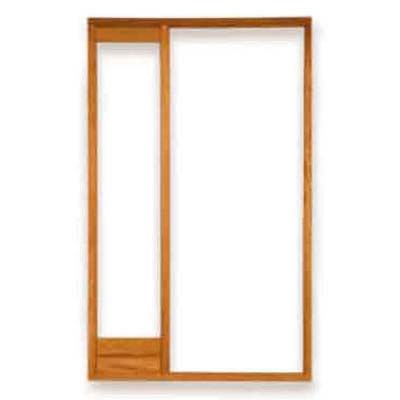 Door frame with sidelight