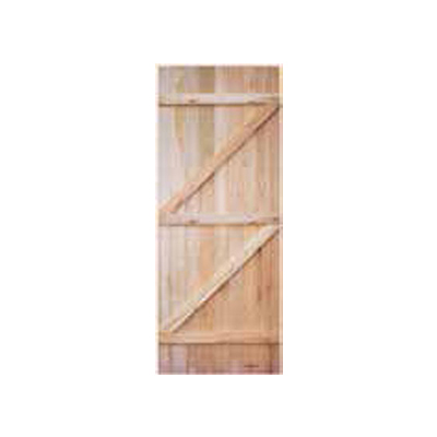 Swartland for Wooden back door and frame