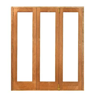 Meranti folding doors 1800x2100
