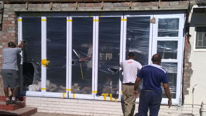 Installers of custom aluminium products